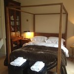 Room three. four poster bed, en-suite bathroom and dressing room