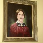 Portrait of Mary Surratt.