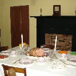 Dining room in Surratt House.