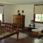 Guest room in Surratt House.