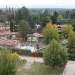Vista aérea del lugar