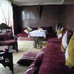 Roof top terrace - indoor seating