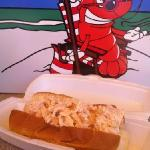 chilled Maine lobster roll