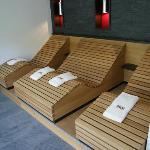 sauna relaxation lounge
