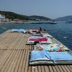 Pier bij Strandje