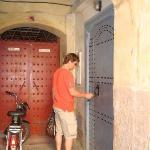 Riad Adore front door