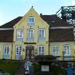 Hotel, der historische Teil mit spezieller Gaststube