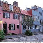 Chalmers Street & the Pink House