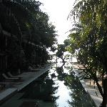 Pool towards the beach
