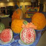 décoration du buffet