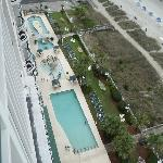 View from Room of our pools