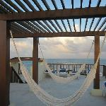 Hammocks on Rooftop