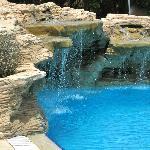 cascade in pool