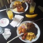 Desayuno Criollo en la habitación