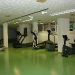 Fitnessraum im Erdgeschoss