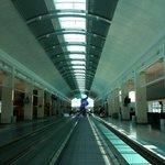 pleasant, airy terminal