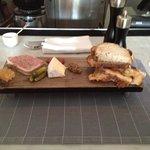 terrine & cheese platter
