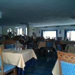 una sala ristorante