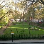 Tavistock Square from our room