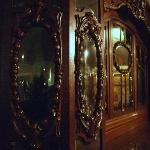 Love the ornate antique furniture!