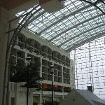 Interior atrium