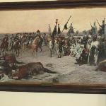 Pintura de la campaña en africa Museo Napoleonico