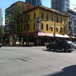 Corner of Granville Strip and Davie Street