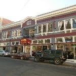 Hotel on the main street.