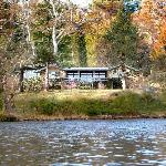 Lakeside Bed & Breakfast from the water