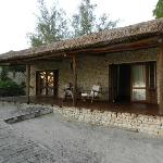 The verandah of the bungalow