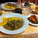 Aurora Feltre- veal & polenta