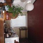 Kitchen area in Cabin #5