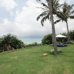 Sea-view garden