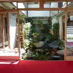 lobby & fish pond