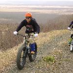 ファットバイクで釧路湿原を走破!