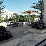Une des terrasses communes