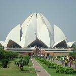 Lotus temple nearby