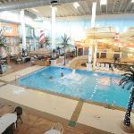 pool side area