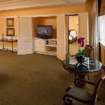 Grand King Suite Sitting Area