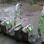 Segway X2s at Thetford - perfect for off-roading!