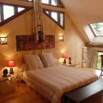 Egyptian bedroom
