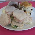 Cupcake Shaped Sandwiches