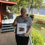info book in cabin