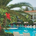 Relax around the main pool and soak up the sun