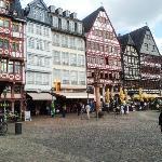Heart of old Frankfurt