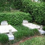 Duane Allman's and Berry Oakley's grave