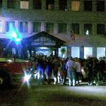 Пожарная тревога ночью с 4 на 5 мая 2012 г.