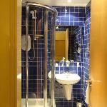 Baño de la habitacion suite