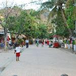 Taganga main strip