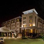 Our beautiful DoubleTree property at night
